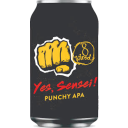 Photo of 8 Wired Yes Sensei Punchy APA 330ml can