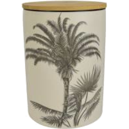 Photo of Augusta Ceramic Wood Canister 12.5cm