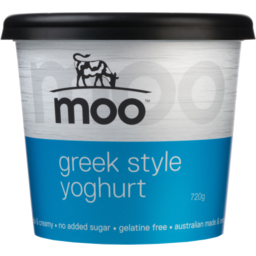 Photo of Moo Greek Style Yoghurt 720g