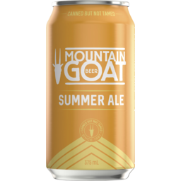 Photo of Mountain Goat Summer Ale Can 375ml