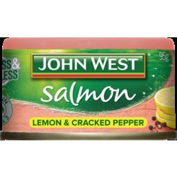 Photo of John West Salmon Tempters Lemon Cracked Pepper 95g