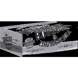 Photo of Woodstock Bourbon & Zero Sugar Cola 6% 375ml 24 Pack