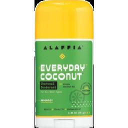 Photo of Alaffia Coconut Reishi Deodorant Bergamot & Charcoal 75g