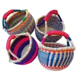 Photo of Elephant Grass Baskets - Mini
