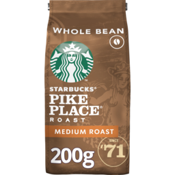 Photo of Starbucks Pike Place Medium Roast Coffee Beans 200g