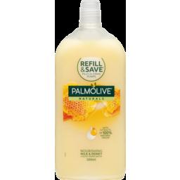 Photo of Palmolive Naturals Liquid Hand Wash Replenishing Milk & Honey 500ml Refill