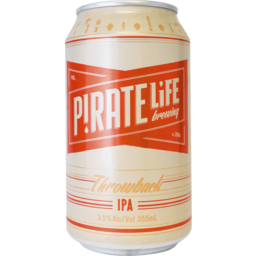 Photo of Pirate Life Throwback India Pale Ale 4x355ml