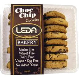 Photo of Leda Choc Chip Cookies 250g