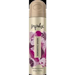 Photo of Impulse Women Body Spray Aerosol Deodorant Romantic Spark 75ml
