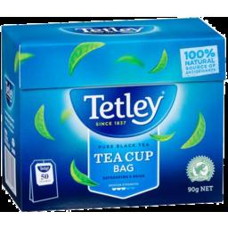 Photo of Tetley Tea Cup Bags 50s Snap) 6x50