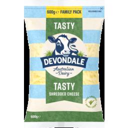 Photo of Devondale Tasty Shredded Cheese 600gm