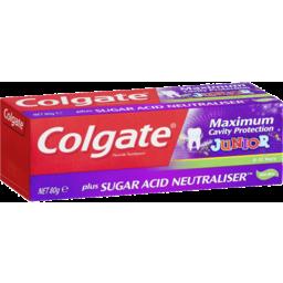 Photo of Colgate Toothpaste Mx/Cav/P Jnr 80g