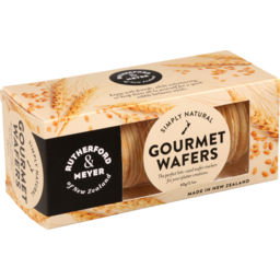 Photo of Rutherford & Meyer Gourmet Wafers Simply Natural 60g