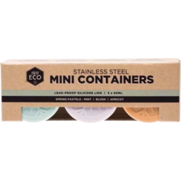 Photo of Ever Eco Container (Stainless Steel) - Mini Containers
