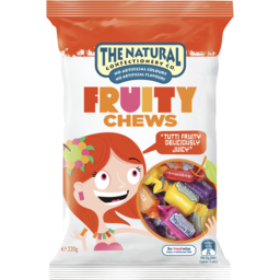 Photo of The Natural Confectionery Co Fruity Chews 220g 220g