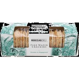Photo of Roccas Deli Fine Wafer Cracker Sesame & Poppy 100g