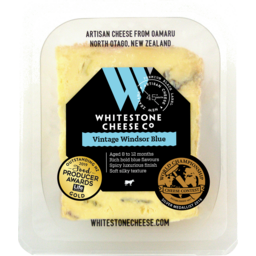 Photo of Whitestone Cheese Vintage Windsor Blue 110g