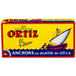 Photo of Ortiz Anchovies in Olive Oil 47.5