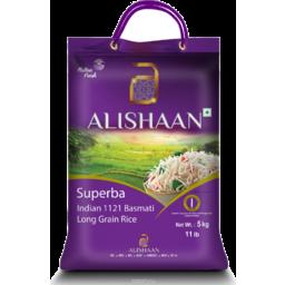 Photo of Alishaan Superba Rice 5kg+1kg FREE