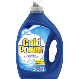 Photo of Cold Power Advanced Clean, Washing Liquid Laundry Detergent, 2 Litres