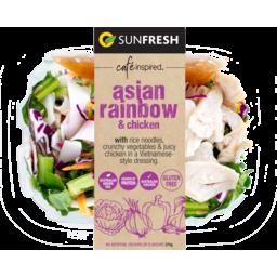 Photo of Sunfresh Asian Rainbow Salad With Chicken 275g