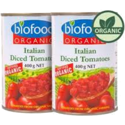 Photo of Biofoods Org Diced Tomatoes 400g