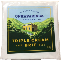 Photo of Onkaparinga Brie Triple Cream 180gm