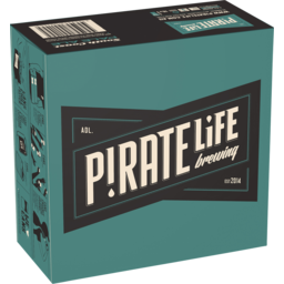 Photo of Pirate Life Brewing South Coast Pale Ale 355ml 16 Pack