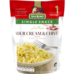 Photo of La Pasta Snackk Sour Cream&Chives 80g