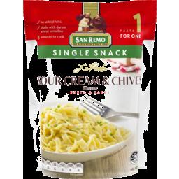 Photo of San Remo La Pasta Sour Cream & Chives Pasta & Sauce 80g