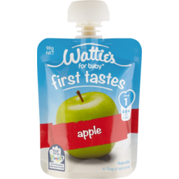 Photo of Wattie's For Baby Baby Food Apple Pouch 4+ Months 90g
