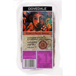 Photo of Dovedale Paleo Purple Bread 640g