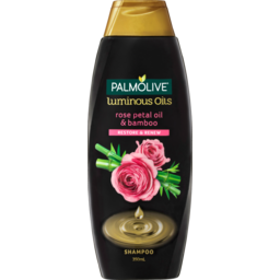 Photo of Palmolive Luminous Oils Hair Shampoo Rose Petal Oil & Bamboo Restore & Renew 350ml