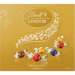 Photo of Lindt Lindor Assorted Chocolates Gift Box 150g