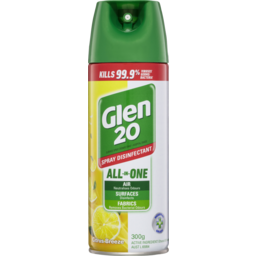 Photo of Glen 20 Citrus Breeze 300g