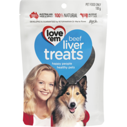 Photo of Love Em Beef Liver Treats 100g