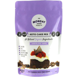Photo of The Monday Food Co - Keto Cake Mix - Chocolate Torte - 250g