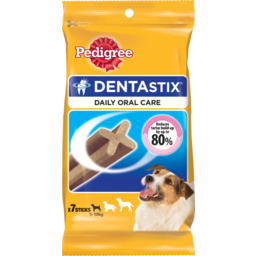 Photo of Pedigree Daily Dentastix Small 7 Pack