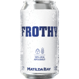 Photo of Frothy Refreshing Ale Can