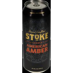Photo of Stoke American Amber 500ml