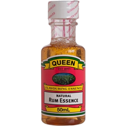 Photo of Queen Natural Rum Flavouring Extract 50ml