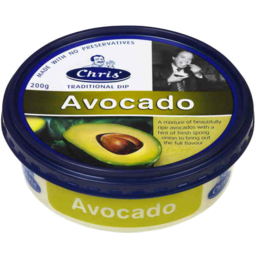 Photo of Chris Greek Dips Avocado 200gm
