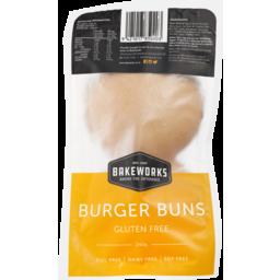 Photo of Bakeworks Gluten Free Burger Buns 240g