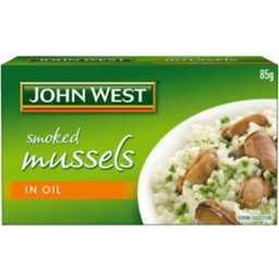 Photo of John West Mussel Smoked Veg Oil 85gm