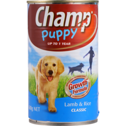 Photo of Champ Puppy Food Lamb & Rice 680g