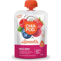 Photo of Chia Pod Mixed Berry Pouch 120g