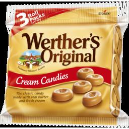 Photo of Werther's Original Cream Candies 3 X 50g Roll