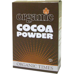 Photo of Organic Times - Cocoa Powder - 200g