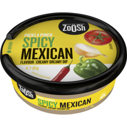 Photo of Zoosh Spicy Mexican Flavour Creamy Dreamy Dip 185g