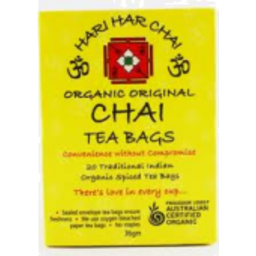 Photo of Hari Hari Chai - Spiced Tea - 20 Teabags - 38g